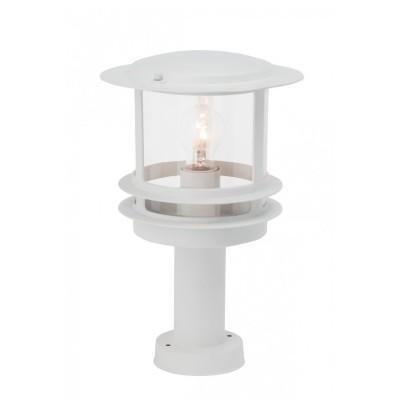 Уличный светильник Brilliant 47884/05 HollywoodФонари на опору<br><br><br>Тип товара: Светильник уличный<br>Тип лампы: накал-я - энергосбер-я<br>Тип цоколя: E27<br>Количество ламп: 1<br>MAX мощность ламп, Вт: 60<br>Диаметр, мм мм: 230<br>Высота, мм: 360<br>Цвет арматуры: белый