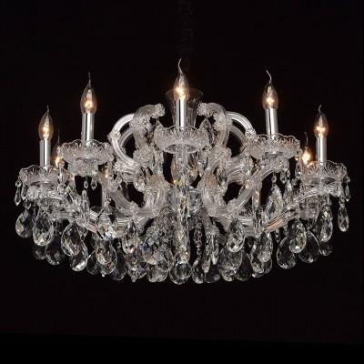 Mw light 479011310 СветильникПодвесные<br><br><br>S освещ. до, м2: 20<br>Тип лампы: Накаливания / энергосбережения / светодиодная<br>Тип цоколя: E14<br>Количество ламп: 10<br>MAX мощность ламп, Вт: 40<br>Диаметр, мм мм: 740<br>Высота, мм: 590 - 1060
