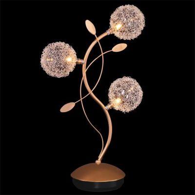 Светильник настольный Евросвет 4800/3 золотоФлористика<br>Настольная лампа – это не просто источник дополнительного освещения, но и оригинальный элемент декора. Его можно установить в спальне, гостиной, кабинете и других комнатах. Интернет-магазин «Светодом» предлагает настольные лампы разных стилей по доступным ценам. Благодаря большому ассортименту Вы обязательно найдете в нашем каталоге именно ту модель, которую искали. <br> Настольная лампа Евросвет 4800/3 – прекрасный вариант для завершения интерьера. Ее можно включить одновременно с люстрой для более яркого освещения или без нее для создания уютной атмосферы, настраивающей на отдых. <br> Купить настольную лампу Евросвет 4800/3 Вы можете с помощью виртуальной «Корзины» или по контактным номерам, указанным на сайте.<br><br>Тип лампы: галогенная / LED-светодиодная<br>Тип цоколя: G4<br>Количество ламп: 3/3<br>Ширина, мм: 260<br>MAX мощность ламп, Вт: 20<br>Длина, мм: 150<br>Высота, мм: 510<br>Цвет арматуры: золотой