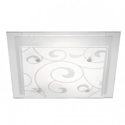 Светильник Globo 48062-2 DiaКвадратные<br>Настенно потолочный светильник Globo (Глобо) 48062-2 подходит как для установки в вертикальном положении - на стены, так и для установки в горизонтальном - на потолок. Для установки настенно потолочных светильников на натяжной потолок необходимо использовать светодиодные лампы LED, которые экономнее ламп Ильича (накаливания) в 10 раз, выделяют мало тепла и не дадут расплавиться Вашему потолку.<br><br>S освещ. до, м2: 8<br>Тип товара: Светильник настенно-потолочный<br>Тип лампы: накаливания / энергосбережения / LED-светодиодная<br>Тип цоколя: E27 ILLU<br>Количество ламп: 2<br>Ширина, мм: 335<br>MAX мощность ламп, Вт: 60<br>Длина, мм: 335<br>Высота, мм: 80<br>Цвет арматуры: серебристый