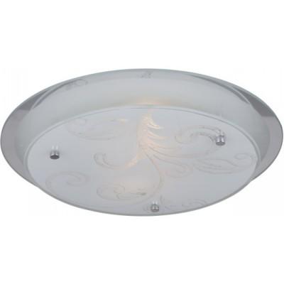Светильник Globo 48065 Berryкруглые светильники<br>Настенно потолочный светильник Globo (Глобо) 48065 подходит как для установки в вертикальном положении - на стены, так и для установки в горизонтальном - на потолок. Для установки настенно потолочных светильников на натяжной потолок необходимо использовать светодиодные лампы LED, которые экономнее ламп Ильича (накаливания) в 10 раз, выделяют мало тепла и не дадут расплавиться Вашему потолку.<br><br>S освещ. до, м2: 8<br>Тип лампы: накаливания / энергосбережения / LED-светодиодная<br>Тип цоколя: E27<br>Цвет арматуры: серебристый<br>Количество ламп: 2<br>Диаметр, мм мм: 335<br>Высота, мм: 85<br>MAX мощность ламп, Вт: 60