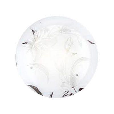 Светильник Globo 48077-3 ClaireКруглые<br><br><br>S освещ. до, м2: 12<br>Тип товара: Светильник настенно-потолочный<br>Скидка, %: 36<br>Тип лампы: накаливания / энергосбережения / LED-светодиодная<br>Тип цоколя: E27<br>Количество ламп: 3<br>Ширина, мм: 400<br>MAX мощность ламп, Вт: 40<br>Диаметр, мм мм: 400<br>Длина, мм: 400<br>Расстояние от стены, мм: 95<br>Высота, мм: 95<br>Оттенок (цвет): белый<br>Цвет арматуры: серебристый
