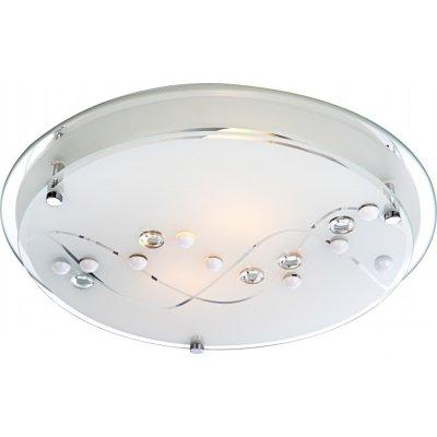 Светильник круглый Globo 48090-2 Ballerina IКруглые<br>Настенно-потолочные светильники – это универсальные осветительные варианты, которые подходят для вертикального и горизонтального монтажа. В интернет-магазине «Светодом» Вы можете приобрести подобные модели по выгодной стоимости. В нашем каталоге представлены как бюджетные варианты, так и эксклюзивные изделия от производителей, которые уже давно заслужили доверие дизайнеров и простых покупателей. <br>Настенно-потолочный светильник Globo 48090-2 станет прекрасным дополнением к основному освещению. Благодаря качественному исполнению и применению современных технологий при производстве эта модель будет радовать Вас своим привлекательным внешним видом долгое время. <br>Приобрести настенно-потолочный светильник Globo 48090-2 можно, находясь в любой точке России.<br><br>S освещ. до, м2: 6<br>Тип лампы: накаливания / энергосбережения / LED-светодиодная<br>Тип цоколя: E27 ILLU<br>Количество ламп: 2<br>MAX мощность ламп, Вт: 60<br>Диаметр, мм мм: 320<br>Высота, мм: 85<br>Цвет арматуры: серебристый