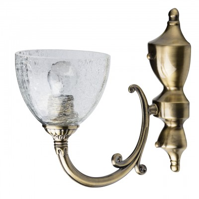 Светильник настенный бра Mw light 481021401 АмандаКлассические<br><br><br>S освещ. до, м2: 3<br>Тип лампы: Накаливания / энергосбережения / светодиодная<br>Тип цоколя: E27<br>Количество ламп: 1<br>Ширина, мм: 150<br>MAX мощность ламп, Вт: 60<br>Длина, мм: 280<br>Высота, мм: 290<br>Цвет арматуры: бронзовый<br>Общая мощность, Вт: 60
