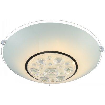 Светильник Globo 48175-18 Louiseкруглые светильники<br>Настенно-потолочные светильники – это универсальные осветительные варианты, которые подходят для вертикального и горизонтального монтажа. В интернет-магазине «Светодом» Вы можете приобрести подобные модели по выгодной стоимости. В нашем каталоге представлены как бюджетные варианты, так и эксклюзивные изделия от производителей, которые уже давно заслужили доверие дизайнеров и простых покупателей.  Настенно-потолочный светильник Globo 48175-18 станет прекрасным дополнением к основному освещению. Благодаря качественному исполнению и применению современных технологий при производстве эта модель будет радовать Вас своим привлекательным внешним видом долгое время. Приобрести настенно-потолочный светильник Globo 48175-18 можно, находясь в любой точке России.<br><br>S освещ. до, м2: 8<br>Тип лампы: галогенная / LED-светодиодная<br>Тип цоколя: LED<br>Цвет арматуры: серебристый<br>Количество ламп: 1<br>Ширина, мм: 400<br>Длина, мм: 400<br>Высота, мм: 120<br>MAX мощность ламп, Вт: 18