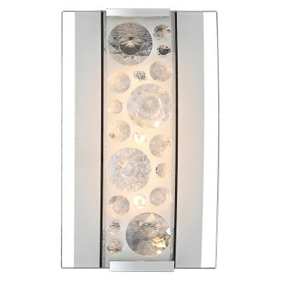 Светильник Globo 48175-4W LouiseМодерн<br><br><br>Тип товара: Светильник настенно-потолочный<br>Скидка, %: 64<br>Тип лампы: галогенная / LED-светодиодная<br>Тип цоколя: LED<br>Количество ламп: 1<br>Ширина, мм: 200<br>MAX мощность ламп, Вт: 4<br>Длина, мм: 200<br>Высота, мм: 120<br>Цвет арматуры: серебристый