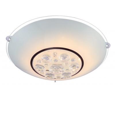 Светильник Globo 48175-8 LouiseКруглые<br>Настенно-потолочные светильники – это универсальные осветительные варианты, которые подходят для вертикального и горизонтального монтажа. В интернет-магазине «Светодом» Вы можете приобрести подобные модели по выгодной стоимости. В нашем каталоге представлены как бюджетные варианты, так и эксклюзивные изделия от производителей, которые уже давно заслужили доверие дизайнеров и простых покупателей.  Настенно-потолочный светильник Globo 48175-8 Louise станет прекрасным дополнением к основному освещению. Благодаря качественному исполнению и применению современных технологий при производстве эта модель будет радовать Вас своим привлекательным внешним видом долгое время.  Приобрести настенно-потолочный светильник Globo 48175-8 Louise можно, находясь в любой точке России. Компания «Светодом» осуществляет доставку заказов не только по Москве и Екатеринбургу, но и в остальные города.<br><br>S освещ. до, м2: 3<br>Тип лампы: галогенная / LED-светодиодная<br>Тип цоколя: LED<br>Количество ламп: 1<br>Ширина, мм: 250<br>MAX мощность ламп, Вт: 8<br>Длина, мм: 250<br>Высота, мм: 100<br>Цвет арматуры: серебристый
