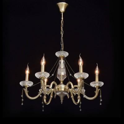 Mw light 482014206 СветильникПодвесные<br><br><br>Установка на натяжной потолок: Да<br>S освещ. до, м2: 18<br>Тип лампы: Накаливания / энергосбережения / светодиодная<br>Тип цоколя: E14<br>Количество ламп: 6<br>MAX мощность ламп, Вт: 60<br>Диаметр, мм мм: 670<br>Высота, мм: 600 - 900<br>Цвет арматуры: бронзовый
