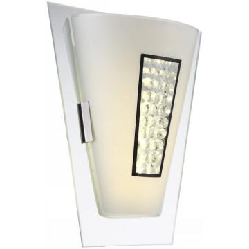 Светильник Globo 48240W AmadaМодерн<br><br><br>Тип лампы: галогенная / LED-светодиодная<br>Тип цоколя: LED<br>Количество ламп: 1<br>Ширина, мм: 245<br>MAX мощность ламп, Вт: 8<br>Длина, мм: 245<br>Высота, мм: 300<br>Цвет арматуры: серебристый