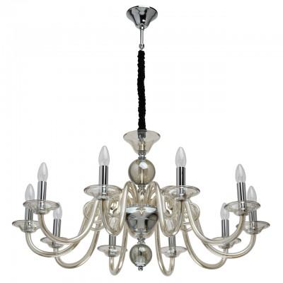 Светильник Mw-light 483012710современные подвесные люстры модерн<br><br><br>S освещ. до, м2: 20<br>Тип лампы: накаливания / энергосбережения / LED-светодиодная<br>Тип цоколя: E14<br>Количество ламп: 10<br>Диаметр, мм мм: 900<br>Высота, мм: 500<br>MAX мощность ламп, Вт: 40