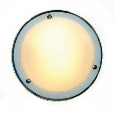 Светильник Globo 48312 SpecchioКруглые<br>Настенно потолочный светильник Globo (Глобо) 48312 подходит как для установки в вертикальном положении - на стены, так и для установки в горизонтальном - на потолок. Для установки настенно потолочных светильников на натяжной потолок необходимо использовать светодиодные лампы LED, которые экономнее ламп Ильича (накаливания) в 10 раз, выделяют мало тепла и не дадут расплавиться Вашему потолку.<br><br>S освещ. до, м2: 8<br>Тип лампы: накаливания / энергосбережения / LED-светодиодная<br>Тип цоколя: E27<br>Количество ламп: 2<br>MAX мощность ламп, Вт: 60<br>Диаметр, мм мм: 315<br>Высота, мм: 90<br>Цвет арматуры: серебристый