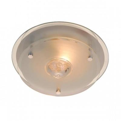 Светильник Globo 48327 MalagaКруглые<br>Настенно потолочный светильник Globo (Глобо) 48327 подходит как для установки в вертикальном положении - на стены, так и для установки в горизонтальном - на потолок. Для установки настенно потолочных светильников на натяжной потолок необходимо использовать светодиодные лампы LED, которые экономнее ламп Ильича (накаливания) в 10 раз, выделяют мало тепла и не дадут расплавиться Вашему потолку.<br><br>S освещ. до, м2: 4<br>Тип лампы: накаливания / энергосбережения / LED-светодиодная<br>Тип цоколя: E27 ILLU<br>Количество ламп: 1<br>MAX мощность ламп, Вт: 60<br>Диаметр, мм мм: 235<br>Высота, мм: 100<br>Цвет арматуры: серебристый