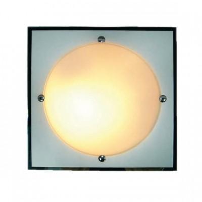 Светильник Globo 48512 SpecchioКвадратные<br>Настенно потолочный светильник Globo (Глобо) 48512 подходит как для установки в вертикальном положении - на стены, так и для установки в горизонтальном - на потолок. Для установки настенно потолочных светильников на натяжной потолок необходимо использовать светодиодные лампы LED, которые экономнее ламп Ильича (накаливания) в 10 раз, выделяют мало тепла и не дадут расплавиться Вашему потолку.<br><br>S освещ. до, м2: 8<br>Тип лампы: накаливания / энергосбережения / LED-светодиодная<br>Тип цоколя: E27<br>Цвет арматуры: серебристый<br>Количество ламп: 2<br>Ширина, мм: 335<br>Длина, мм: 335<br>Высота, мм: 90<br>MAX мощность ламп, Вт: 60