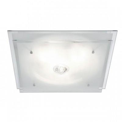 Светильник Globo 48528-3 MalagaКвадратные<br>Настенно потолочный светильник Globo (Глобо) 48528-3 подходит как для установки в вертикальном положении - на стены, так и для установки в горизонтальном - на потолок. Для установки настенно потолочных светильников на натяжной потолок необходимо использовать светодиодные лампы LED, которые экономнее ламп Ильича (накаливания) в 10 раз, выделяют мало тепла и не дадут расплавиться Вашему потолку.<br><br>S освещ. до, м2: 12<br>Тип лампы: накаливания / энергосбережения / LED-светодиодная<br>Тип цоколя: E27<br>Количество ламп: 3<br>Ширина, мм: 420<br>MAX мощность ламп, Вт: 60<br>Длина, мм: 420<br>Высота, мм: 110<br>Цвет арматуры: серебристый