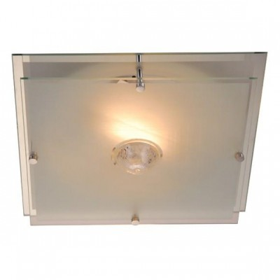 Светильник Globo 48528 MalagaКвадратные<br>Настенно потолочный светильник Globo (Глобо) 48528 подходит как дл установки в вертикальном положении - на стены, так и дл установки в горизонтальном - на потолок. Дл установки настенно потолочных светильников на натжной потолок необходимо использовать светодиодные лампы LED, которые кономнее ламп Ильича (накаливани) в 10 раз, выделт мало тепла и не дадут расплавитьс Вашему потолку.<br><br>S освещ. до, м2: 8<br>Тип лампы: накаливани / нергосбережени / LED-светодиодна<br>Тип цокол: E27 ILLU<br>Количество ламп: 2<br>Ширина, мм: 320<br>MAX мощность ламп, Вт: 60<br>Длина, мм: 320<br>Высота, мм: 110<br>Цвет арматуры: серебристый
