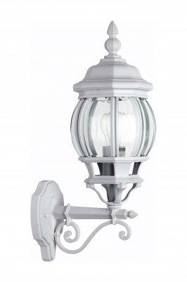 Светильник уличный Brilliant 48681/05 IstriaНастенные<br>Зачастую мы ищем идеальное освещение для своего дома и уделяем этому достаточно много времени. Так, например, если нам нужен светильник с количеством ламп - 1 и цвет плафонов должен быть - неокрашенный, а материал плафонов только стекло! То нам, как вариант, подойдет модель - светильник уличный Brilliant 48681/05.<br><br>S освещ. до, м2: до 4<br>Тип товара: Светильник уличный<br>Тип лампы: накаливания / энергосбережения / LED-светодиодная<br>Тип цоколя: E27<br>Количество ламп: 1<br>MAX мощность ламп, Вт: 60<br>Диаметр, мм мм: 160<br>Высота, мм: 500<br>Цвет арматуры: белый