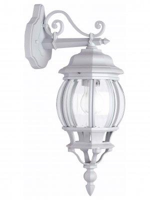 Светильник уличный Brilliant 48682/05 IstriaНастенные<br>Зачастую мы ищем идеальное освещение для своего дома и уделяем этому достаточно много времени. Так, например, если нам нужен светильник с количеством ламп - 1 и цвет плафонов должен быть - неокрашенный, а материал плафонов только стекло! То нам, как вариант, подойдет модель - светильник уличный Brilliant 48682/05.<br><br>S освещ. до, м2: до 4<br>Тип лампы: накаливания / энергосбережения / LED-светодиодная<br>Тип цоколя: E27<br>Количество ламп: 1<br>MAX мощность ламп, Вт: 60<br>Диаметр, мм мм: 160<br>Высота, мм: 500<br>Цвет арматуры: белый