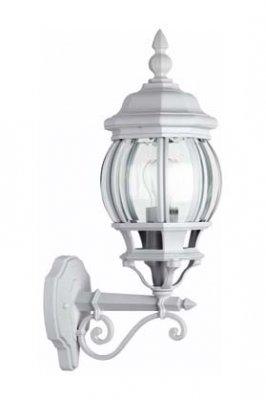 Светильник уличный Brilliant 48697/05 IstriaНастенные<br>Зачастую мы ищем идеальное освещение для своего дома и уделяем этому достаточно много времени. Так, например, если нам нужен светильник с количеством ламп - 1 и цвет плафонов должен быть - неокрашенный, а материал плафонов только стекло! То нам, как вариант, подойдет модель - светильник уличный Brilliant 48697/05.<br><br>S освещ. до, м2: до 4<br>Тип лампы: накаливания / энергосбережения / LED-светодиодная<br>Тип цоколя: E27<br>Количество ламп: 1<br>Ширина, мм: 160<br>MAX мощность ламп, Вт: 60<br>Диаметр, мм мм: 160<br>Высота, мм: 540<br>Цвет арматуры: белый