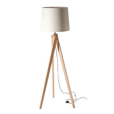 Торшер напольный Chiaro 490040401 БернауИз дерева<br>Описание модели 490040401: Современный, лаконичный дизайн светильника из коллекции «Бернау» идеально дополнит модный интерьер. В нем простота форм, точность и строгость  линий сочетаются с высокими технологическими характеристиками. Светильник  также отличают природная естественность и экологичность, которые достигаются благодаря основанию из русского ясеня. Натуральное дерево гармонично смотрится в сочетании с белым текстильным абажуром. Рекомендуемая площадь освещения порядка 3 кв.м.<br><br>S освещ. до, м2: 3<br>Тип лампы: накаливания / энергосбережения / LED-светодиодная<br>Тип цоколя: E27<br>Количество ламп: 1<br>MAX мощность ламп, Вт: 60<br>Диаметр, мм мм: 570<br>Высота, мм: 1630