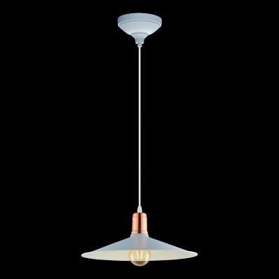 Подвесной светильник Eglo 49032 BRIDPORT-Pодиночные подвесные светильники<br>Компания «Светодом» предлагает широкий ассортимент люстр от известных производителей. Представленные в нашем каталоге товары выполнены из современных материалов и обладают отличным качеством. Благодаря широкому ассортименту Вы сможете найти у нас люстру под любой интерьер. Мы предлагаем как классические варианты, так и современные модели, отличающиеся лаконичностью и простотой форм.