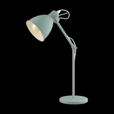 Настольная лампа Eglo 49097 PRIDDY-Pсовременные настольные лампы модерн<br>Компания «Светодом» предлагает широкий ассортимент люстр от известных производителей. Представленные в нашем каталоге товары выполнены из современных материалов и обладают отличным качеством. Благодаря широкому ассортименту Вы сможете найти у нас люстру под любой интерьер. Мы предлагаем как классические варианты, так и современные модели, отличающиеся лаконичностью и простотой форм.