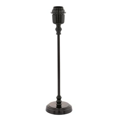 Eglo MARGATE 49194 Основа для настольной лампыСовременные<br>Основа для настольной лампы MARGATE, 1X60W (E27), ?105, H410, литой алюминий, черный применяется преимущественно в домашнем освещении с использованием стандартных выключателей и переключателей для сетей 220V.<br><br>Тип цоколя: E27<br>Цвет арматуры: черный<br>Количество ламп: 1<br>Диаметр, мм мм: 105<br>Высота, мм: 410<br>MAX мощность ламп, Вт: 60