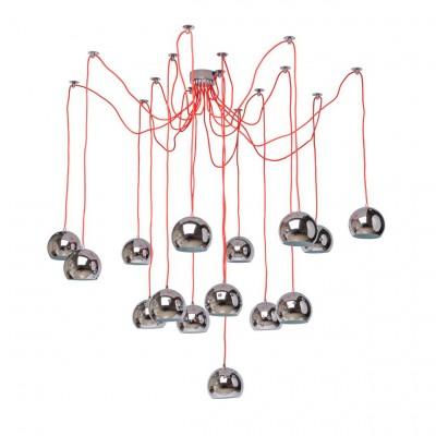 Светильник Regenbogen life 492012615Подвесные<br>Компания «Светодом» предлагает широкий ассортимент люстр от известных производителей. Представленные в нашем каталоге товары выполнены из современных материалов и обладают отличным качеством. Благодаря широкому ассортименту Вы сможете найти у нас люстру под любой интерьер. Мы предлагаем как классические варианты, так и современные модели, отличающиеся лаконичностью и простотой форм.  Стильная люстра Regenbogen life 492012615 станет украшением любого дома. Эта модель от известного производителя не оставит равнодушным ценителей красивых и оригинальных предметов интерьера. Люстра Regenbogen life 492012615 обеспечит равномерное распределение света по всей комнате. При выборе обратите внимание на характеристики, позволяющие приобрести наиболее подходящую модель. Купить понравившуюся люстру по доступной цене Вы можете в интернет-магазине «Светодом».<br><br>S освещ. до, м2: 30<br>Тип лампы: галогенная/LED<br>Тип цоколя: G9<br>Количество ламп: 15<br>MAX мощность ламп, Вт: 40<br>Диаметр, мм мм: 500<br>Высота, мм: 200 - 1500