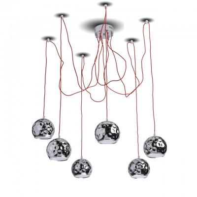492014406 RegenBogen Светильникподвесные люстры хай тек<br><br><br>Установка на натяжной потолок: Да<br>S освещ. до, м2: 22<br>Тип лампы: LED<br>Тип цоколя: LED<br>Высота, мм: 170 - 2520
