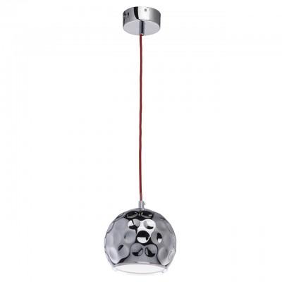 492015301 RegenBogen СветильникОдиночные<br><br><br>Тип лампы: LED<br>Тип цоколя: LED<br>Цвет арматуры: серебристый<br>Диаметр, мм мм: 170<br>Высота, мм: 220 - 980<br>MAX мощность ламп, Вт: 10