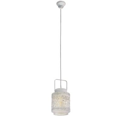Светильник подвесной Eglo 49205Одиночные<br><br><br>Тип лампы: Накаливания / энергосбережения / светодиодная<br>Тип цоколя: E27<br>Количество ламп: 1<br>MAX мощность ламп, Вт: 60<br>Диаметр, мм мм: 170<br>Высота, мм: 1100