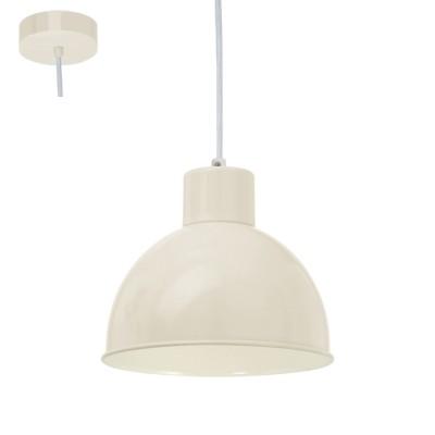 Eglo VINTAGE 49242 Подвес 1х60W, E27, песчанныйОдиночные<br><br><br>S освещ. до, м2: 3<br>Тип лампы: Накаливания / энергосбережения / светодиодная<br>Тип цоколя: E27<br>Количество ламп: 1<br>MAX мощность ламп, Вт: 60<br>Диаметр, мм мм: 210<br>Высота, мм: 1100