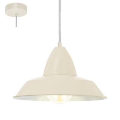 Светильник Eglo 49245Одиночные<br><br><br>Тип лампы: Накаливания / энергосбережения / светодиодная<br>Тип цоколя: E27<br>Количество ламп: 1<br>MAX мощность ламп, Вт: 60<br>Диаметр, мм мм: 260<br>Высота, мм: 1100