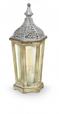 Eglo KINGHORN 49277 Настольная лампаКлассические<br>Настольная лампа – это не просто источник дополнительного освещения, но и оригинальный элемент декора. Его можно установить в спальне, гостиной, кабинете и других комнатах. Интернет-магазин «Светодом» предлагает настольные лампы разных стилей по доступным ценам. Благодаря большому ассортименту Вы обязательно найдете в нашем каталоге именно ту модель, которую искали.   Настольная лампа Eglo 49277 – прекрасный вариант для завершения интерьера. Ее можно включить одновременно с люстрой для более яркого освещения или без нее для создания уютной атмосферы, настраивающей на отдых.   Купить настольную лампу Eglo 49277 Вы можете с помощью виртуальной «Корзины» или по контактным номерам, указанным на сайте.<br><br>Тип цоколя: E27<br>MAX мощность ламп, Вт: 2<br>Диаметр, мм мм: 155<br>Размеры основания, мм: 0<br>Высота, мм: 405<br>Оттенок (цвет): прозрачный<br>Цвет арматуры: серебристый<br>Общая мощность, Вт: 1X60W