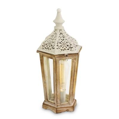 Светильник Eglo 49278Классические<br><br><br>Тип лампы: Накаливания / энергосбережения / светодиодная<br>Тип цоколя: E27<br>Количество ламп: 1<br>MAX мощность ламп, Вт: 60<br>Диаметр, мм мм: 155<br>Высота, мм: 405