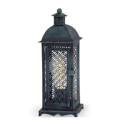 Светильник Eglo 49285Морской стиль<br><br><br>Тип лампы: Накаливания / энергосбережения / светодиодная<br>Тип цоколя: E27<br>Количество ламп: 1<br>Ширина, мм: 120<br>MAX мощность ламп, Вт: 60<br>Длина, мм: 120<br>Высота, мм: 330