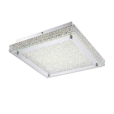 Светильник Globo 49333Потолочные<br><br><br>Установка на натяжной потолок: Да<br>S освещ. до, м2: 1<br>Крепление: Планка<br>Тип товара: Светильник потолочный<br>Скидка, %: 64<br>Тип лампы: LED - светодиодная<br>Тип цоколя: LED<br>Количество ламп: 1<br>MAX мощность ламп, Вт: 18<br>Диаметр, мм мм: 300<br>Высота, мм: 72<br>Цвет арматуры: серебристый