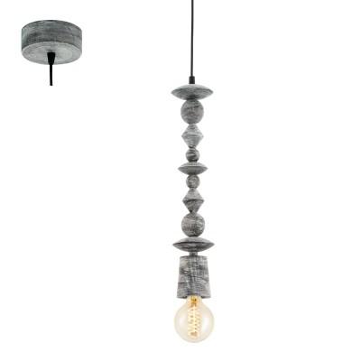Eglo AVOLTRI 49372 Винтажный светильникОдиночные<br>Подвес AVOLTRI, 1x60W (E27), ?80, дерево, патина, черный применяется преимущественно в домашнем освещении с использованием стандартных выключателей и переключателей для сетей 220V.<br><br>Тип товара: Винтажный светильник<br>Тип цоколя: E27<br>Количество ламп: 1<br>MAX мощность ламп, Вт: 60<br>Диаметр, мм мм: 80<br>Высота, мм: 1100<br>Цвет арматуры: черный, патина