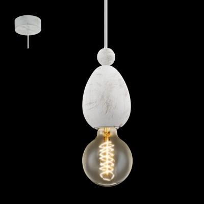 Eglo AVOLTRI 49377 Винтажный светильникОдиночные<br>Подвес AVOLTRI, 1x60W (E27), ?80, дерево, патина, белый применяется преимущественно в домашнем освещении с использованием стандартных выключателей и переключателей для сетей 220V.<br><br>S освещ. до, м2: 3<br>Тип цоколя: E27<br>Цвет арматуры: белый, патина<br>Количество ламп: 1<br>Диаметр, мм мм: 80<br>Высота, мм: 1100<br>MAX мощность ламп, Вт: 60