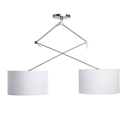 Mw light 494012102 СветильникПотолочные<br><br><br>Установка на натяжной потолок: Да<br>S освещ. до, м2: 6<br>Тип лампы: Накаливания / энергосбережения / светодиодная<br>Тип цоколя: E27<br>Количество ламп: 2<br>MAX мощность ламп, Вт: 60<br>Диаметр, мм мм: 450<br>Высота, мм: 630