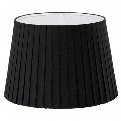 Eglo VINTAGE 49413 Абажур для светильникаАбажуры<br><br><br>Тип цоколя: -<br>Диаметр, мм мм: 245<br>Размеры основания, мм: 0<br>Высота, мм: 170<br>Оттенок (цвет): черный<br>MAX мощность ламп, Вт: 0<br>Общая мощность, Вт: -
