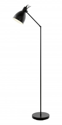 Eglo PRIDDY 49471 Светильник напольный торшерМодерн<br>Торшер – это не просто функциональный предмет интерьера, позволяющий обеспечить дополнительное освещение, но и оригинальный декоративный элемент. Интернет-магазин «Светодом» предлагает стильные модели от известных производителей по доступным ценам. У нас Вы найдете и классические напольные светильники, и современные варианты.   Торшер 49471 Eglo сразу же привлекает внимание благодаря своему необычному дизайну. Модель выполнена из качественных материалов, что обеспечит ее надежную и долговечную работу. Такой напольный светильник можно использовать для интерьера не только гостиной, но и спальни или кабинета.   Купить торшер 49471 Eglo по выгодной стоимости Вы можете с помощью нашего сайта. У нас склады в Москве, Екатеринбурге, Санкт-Петербурге, Новосибирске и другим городам России.<br><br>Тип цоколя: E27<br>MAX мощность ламп, Вт: 2<br>Размеры основания, мм: 230<br>Высота, мм: 1370<br>Цвет арматуры: черный<br>Общая мощность, Вт: 1X40W