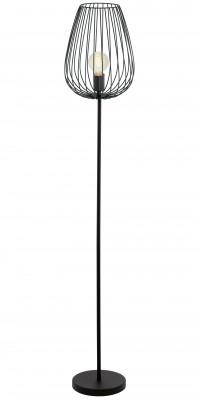Eglo NEWTOWN 49474 Торшер напольныйСовременные<br>Торшер – это не просто функциональный предмет интерьера, позволяющий обеспечить дополнительное освещение, но и оригинальный декоративный элемент. Интернет-магазин «Светодом» предлагает стильные модели от известных производителей по доступным ценам. У нас Вы найдете и классические напольные светильники, и современные варианты.   Торшер 49474 Eglo сразу же привлекает внимание благодаря своему необычному дизайну. Модель выполнена из качественных материалов, что обеспечит ее надежную и долговечную работу. Такой напольный светильник можно использовать для интерьера не только гостиной, но и спальни или кабинета.   Купить торшер 49474 Eglo по выгодной стоимости Вы можете с помощью нашего сайта. У нас склады в Москве, Екатеринбурге, Санкт-Петербурге, Новосибирске и другим городам России.<br><br>Тип цоколя: E27<br>MAX мощность ламп, Вт: 2<br>Диаметр, мм мм: 275<br>Размеры основания, мм: 230<br>Высота, мм: 1595<br>Цвет арматуры: черный<br>Общая мощность, Вт: 1X60W