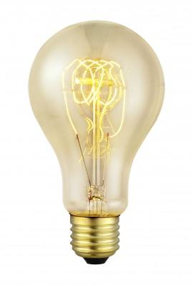 Eglo 49503 Лампа ЭдисонаРетро лампы<br>В интернет-магазине «Светодом» можно купить не только люстры и светильники, но и лампочки. В нашем каталоге представлены светодиодные, галогенные, энергосберегающие модели и лампы накаливания. В ассортименте имеются изделия разной мощности, поэтому у нас Вы сможете приобрести все необходимое для освещения.   Лампа Eglo 49503 обеспечит отличное качество освещения. При покупке ознакомьтесь с параметрами в разделе «Характеристики», чтобы не ошибиться в выборе. Там же указано, для каких осветительных приборов Вы можете использовать лампу Eglo 49503Eglo 49503.   Для оформления покупки воспользуйтесь «Корзиной». При наличии вопросов Вы можете позвонить нашим менеджерам по одному из контактных номеров. Мы доставляем заказы в Москву, Екатеринбург и другие города России.<br><br>Тип лампы: накаливания<br>Тип цоколя: E27<br>Диаметр, мм мм: 75<br>Размеры основания, мм: 0<br>Длина, мм: 138<br>MAX мощность ламп, Вт: 2<br>Общая мощность, Вт: 1X60W