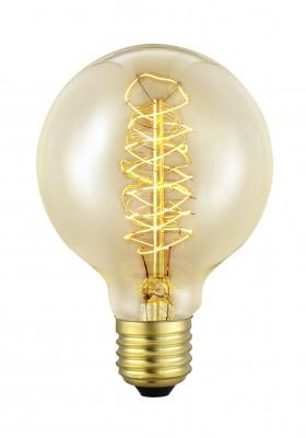 Eglo 49504 Лампочка ЭдисонаРетро лампы<br>В интернет-магазине «Светодом» можно купить не только люстры и светильники, но и лампочки. В нашем каталоге представлены светодиодные, галогенные, энергосберегающие модели и лампы накаливания. В ассортименте имеются изделия разной мощности, поэтому у нас Вы сможете приобрести все необходимое для освещения.   Лампа Eglo 49504 обеспечит отличное качество освещения. При покупке ознакомьтесь с параметрами в разделе «Характеристики», чтобы не ошибиться в выборе. Там же указано, для каких осветительных приборов Вы можете использовать лампу Eglo 49504Eglo 49504.   Для оформления покупки воспользуйтесь «Корзиной». При наличии вопросов Вы можете позвонить нашим менеджерам по одному из контактных номеров. Мы доставляем заказы в Москву, Екатеринбург и другие города России.<br><br>Тип лампы: накаливания<br>Тип цоколя: E27<br>MAX мощность ламп, Вт: 2<br>Диаметр, мм мм: 80<br>Размеры основания, мм: 0<br>Длина, мм: 117<br>Общая мощность, Вт: 1X60W