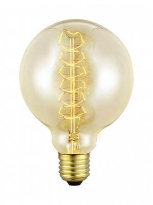 Eglo 49505 Лампочка ЭдисонаРетро лампы<br>В интернет-магазине «Светодом» можно купить не только люстры и светильники, но и лампочки. В нашем каталоге представлены светодиодные, галогенные, энергосберегающие модели и лампы накаливания. В ассортименте имеются изделия разной мощности, поэтому у нас Вы сможете приобрести все необходимое для освещения.   Лампа Eglo 49505 обеспечит отличное качество освещения. При покупке ознакомьтесь с параметрами в разделе «Характеристики», чтобы не ошибиться в выборе. Там же указано, для каких осветительных приборов Вы можете использовать лампу Eglo 49505Eglo 49505.   Для оформления покупки воспользуйтесь «Корзиной». При наличии вопросов Вы можете позвонить нашим менеджерам по одному из контактных номеров. Мы доставляем заказы в Москву, Екатеринбург и другие города России.<br><br>Тип лампы: накаливания<br>Тип цоколя: E27<br>MAX мощность ламп, Вт: 2<br>Диаметр, мм мм: 95<br>Размеры основания, мм: 0<br>Длина, мм: 135<br>Общая мощность, Вт: 1X60W