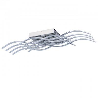 Светильник Regenbogen life 496012708Потолочные<br>Компания «Светодом» предлагает широкий ассортимент люстр от известных производителей. Представленные в нашем каталоге товары выполнены из современных материалов и обладают отличным качеством. Благодаря широкому ассортименту Вы сможете найти у нас люстру под любой интерьер. Мы предлагаем как классические варианты, так и современные модели, отличающиеся лаконичностью и простотой форм.  Стильная люстра Regenbogen life 496012708 станет украшением любого дома. Эта модель от известного производителя не оставит равнодушным ценителей красивых и оригинальных предметов интерьера. Люстра Regenbogen life 496012708 обеспечит равномерное распределение света по всей комнате. При выборе обратите внимание на характеристики, позволяющие приобрести наиболее подходящую модель. Купить понравившуюся люстру по доступной цене Вы можете в интернет-магазине «Светодом».<br><br>Установка на натяжной потолок: Да<br>S освещ. до, м2: 4<br>Тип лампы: LED<br>Тип цоколя: LED<br>Цвет арматуры: серебристый хром<br>Ширина, мм: 240<br>Длина, мм: 900<br>Высота, мм: 200<br>MAX мощность ламп, Вт: 9