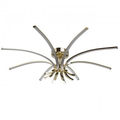 496014008 RegenBogen СветильникПотолочные<br><br><br>Установка на натяжной потолок: Да<br>S освещ. до, м2: 20<br>Тип лампы: LED<br>Диаметр, мм мм: 800<br>Высота, мм: 200