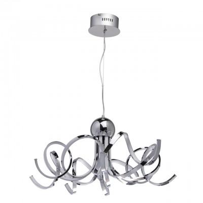 496014108 RegenBogen СветильникПодвесные<br><br><br>Установка на натяжной потолок: Да<br>S освещ. до, м2: 45<br>Тип лампы: LED<br>Высота, мм: 400 - 1500