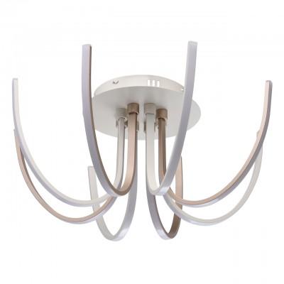 496015608 RegenBogen СветильникПотолочные<br><br><br>Установка на натяжной потолок: Да<br>S освещ. до, м2: 30<br>Тип лампы: LED<br>Тип цоколя: LED<br>Диаметр, мм мм: 600<br>Высота, мм: 250