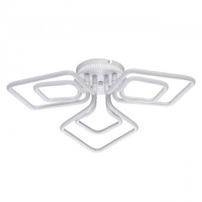496016803 Regenbogen Life Светильниклюстры хай тек потолочные<br><br><br>Установка на натяжной потолок: Да<br>S освещ. до, м2: 13<br>Тип лампы: LED<br>Диаметр, мм мм: 700<br>Высота, мм: 125